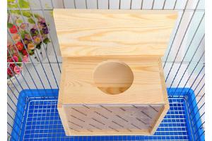 Arenero premium de madera