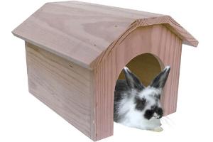 casa de madera para chinchillas