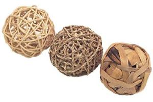 pack de 3 bolas chinchilla